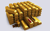 Gold - Visualized in Bullion Bars