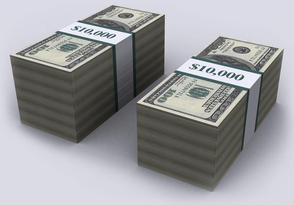 $100 - One Hundred Dollars