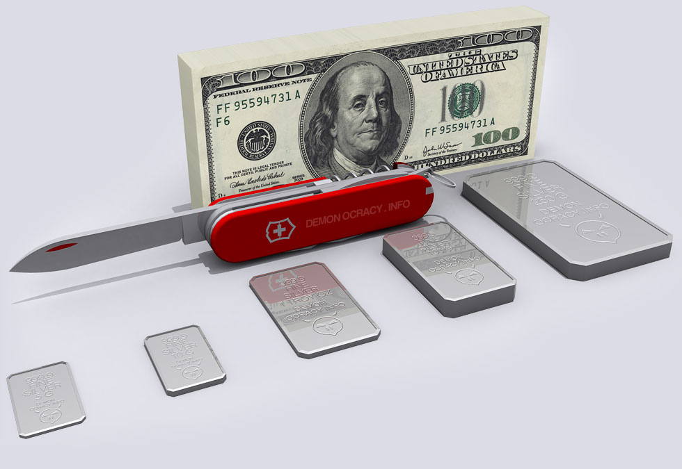 Silver Visualized In Bullion Bars The Daily Coin